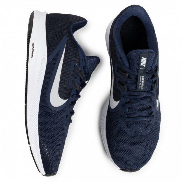 Nike Downshifter 9 kék férfi futócipő