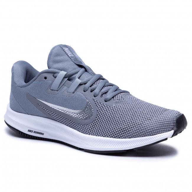 Nike Downshifter 9 szürke férfi utcai cipő