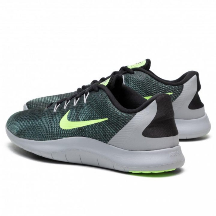 Nike Flex 2018 Rn zöld férfi focicipő