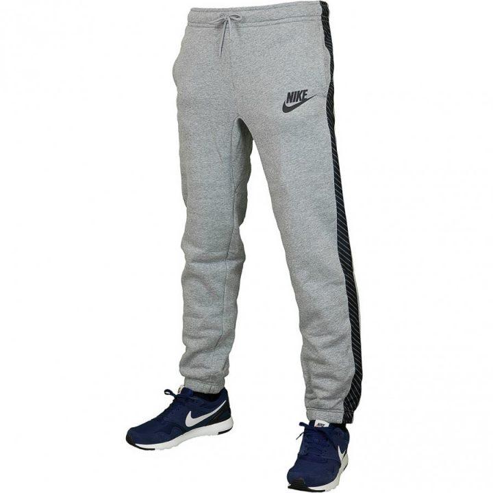 Nike Joggers With Striped szürke férfi melegítőnadrág