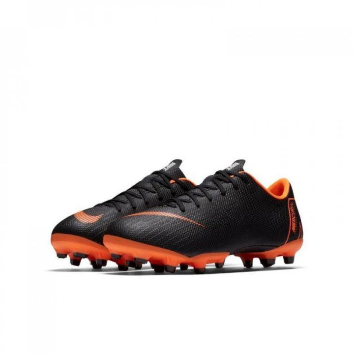 Nike Jr vapor 12 academy fekete fiú focicipő