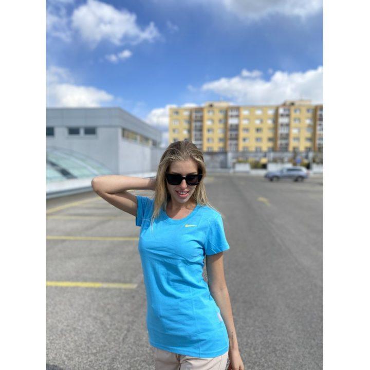 Nike kék női póló
