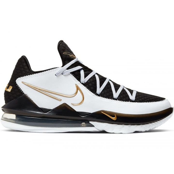 Nike Lebron XVII LOW fekete kosárlabdacipő