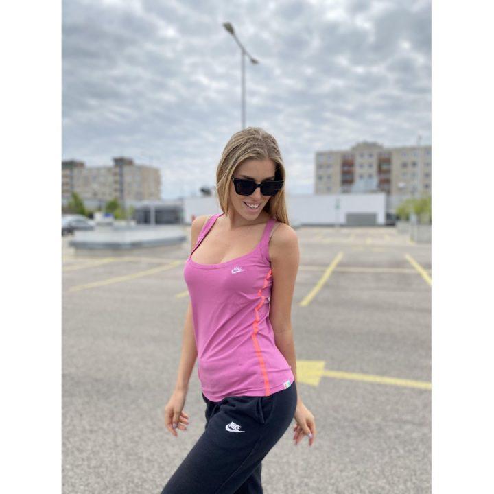 Nike lila női póló