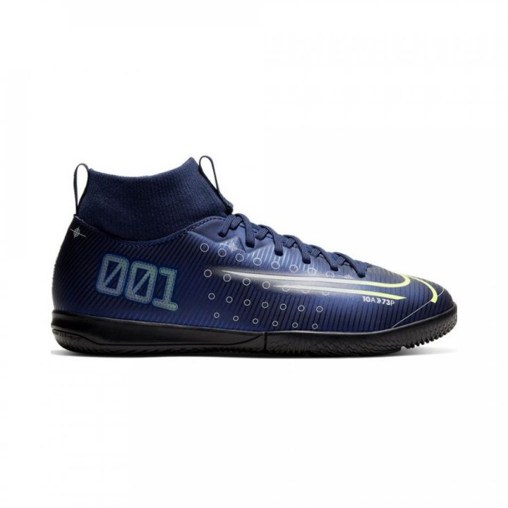 Nike Mercurial Superfly 7 Academy Mds Ic Jr kék fiú teremcipő