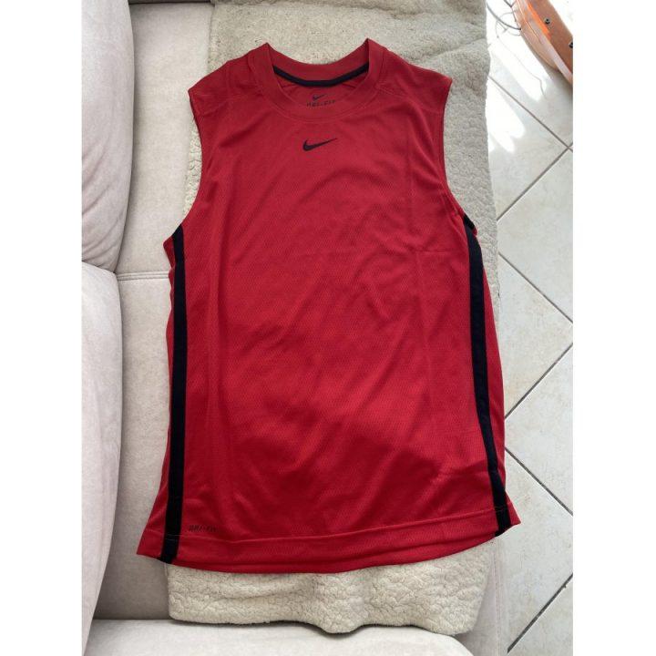 Nike piros férfi trikó