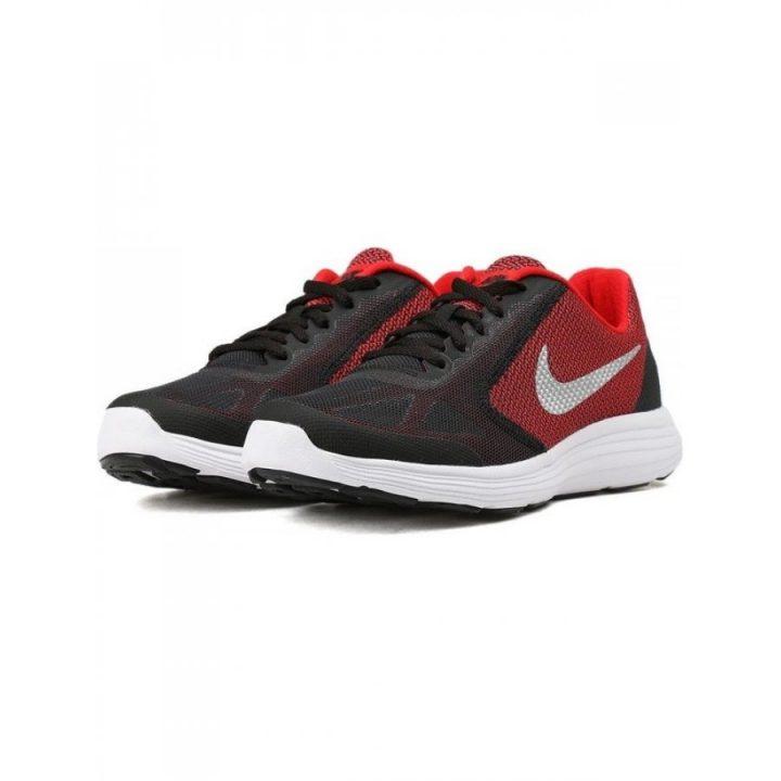 Nike Revolution 3 GS fekete sportcipő