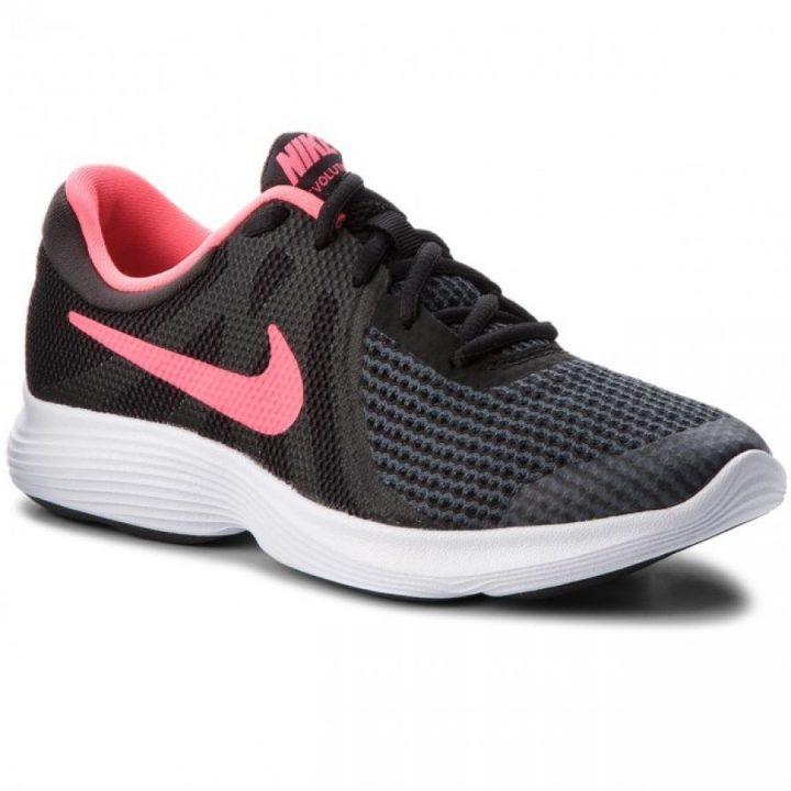 Nike Revolution 4 (GS) fekete futócipő