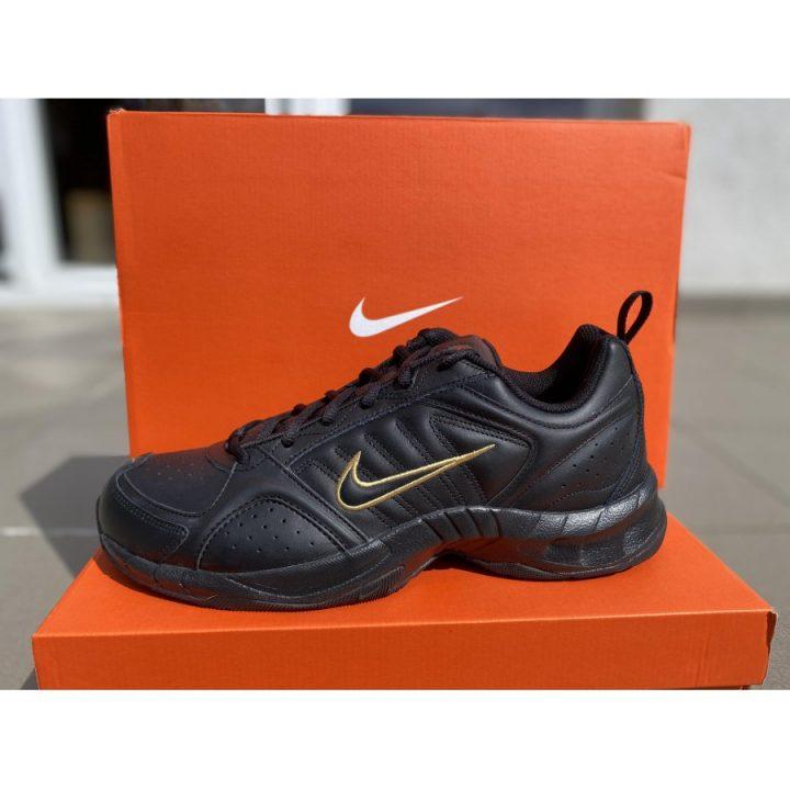 Nike T-lite VII Leather fekete férfi utcai cipő
