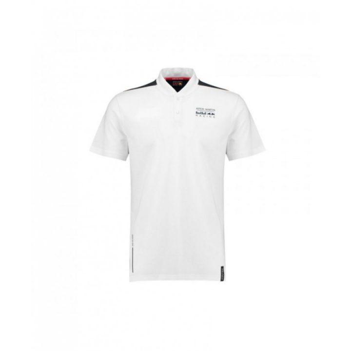Puma Baseball Collar fehér férfi póló