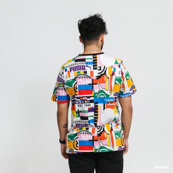 Puma International több színű férfi póló