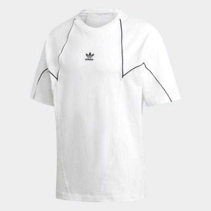 Adidas Big Trefoil fehér férfi póló