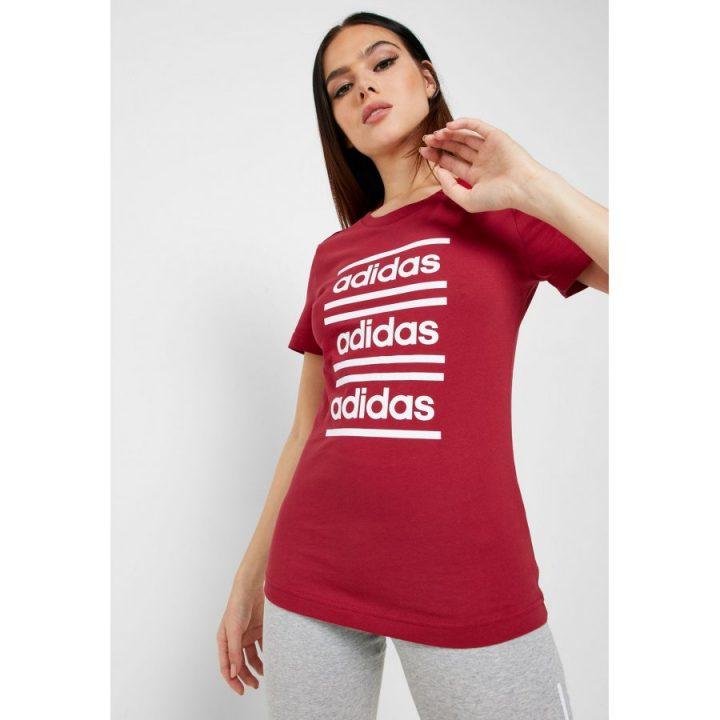 Adidas Celebrate the 90s piros női póló