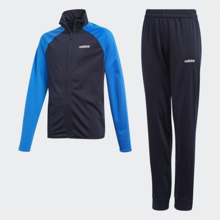 Adidas Entry Track kék fiú melegítő együttes