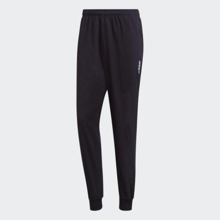 Adidas Essentials fekete férfi melegítőnadrág