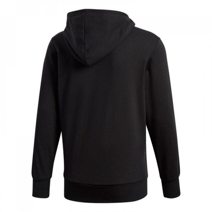 Adidas Essentials fekete férfi pulóver