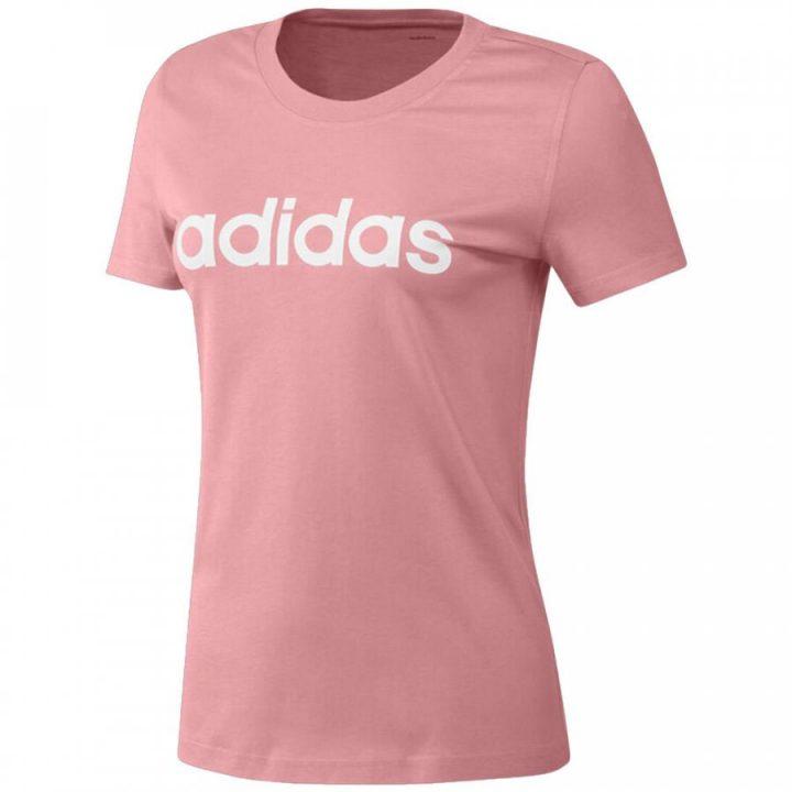 Adidas Essentials rózsaszín női póló
