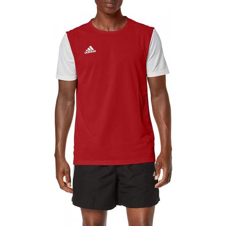 Adidas Estro 19 piros férfi póló