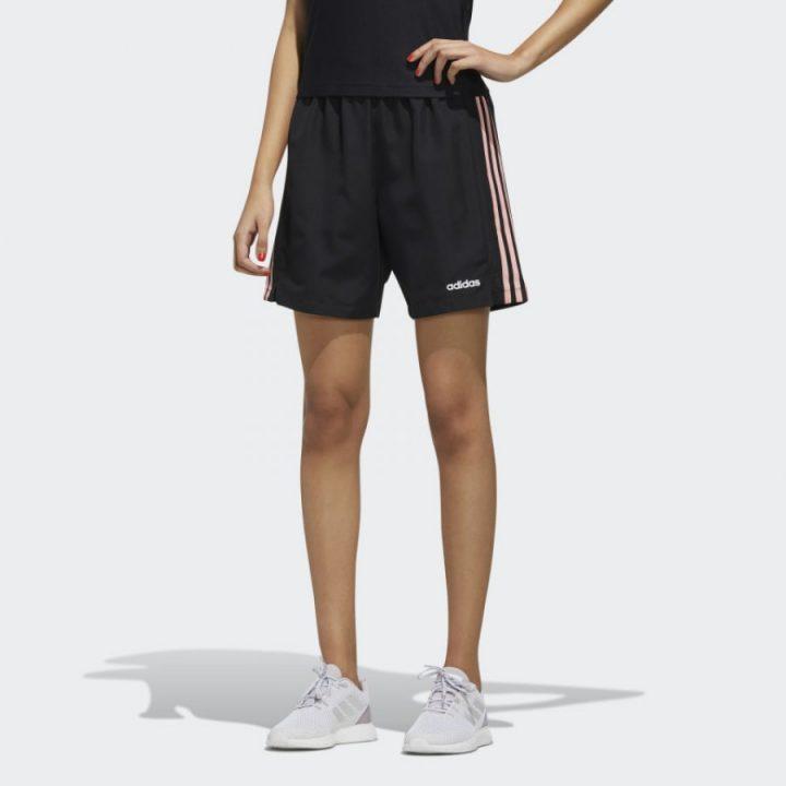 Adidas fekete női rövidnadrág