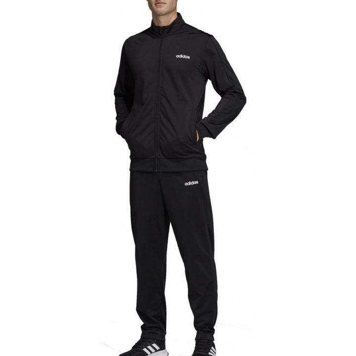 Adidas MTS Basics fekete fiú melegítő együttes