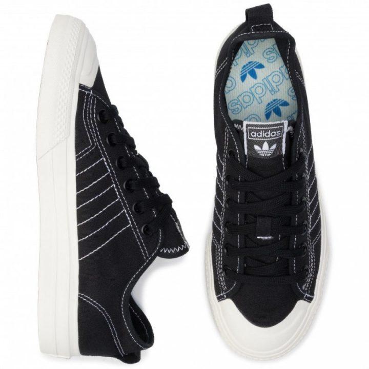 Adidas Nizza RF fekete férfi utcai cipő