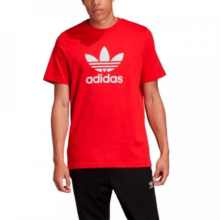 Adidas Originals piros férfi póló