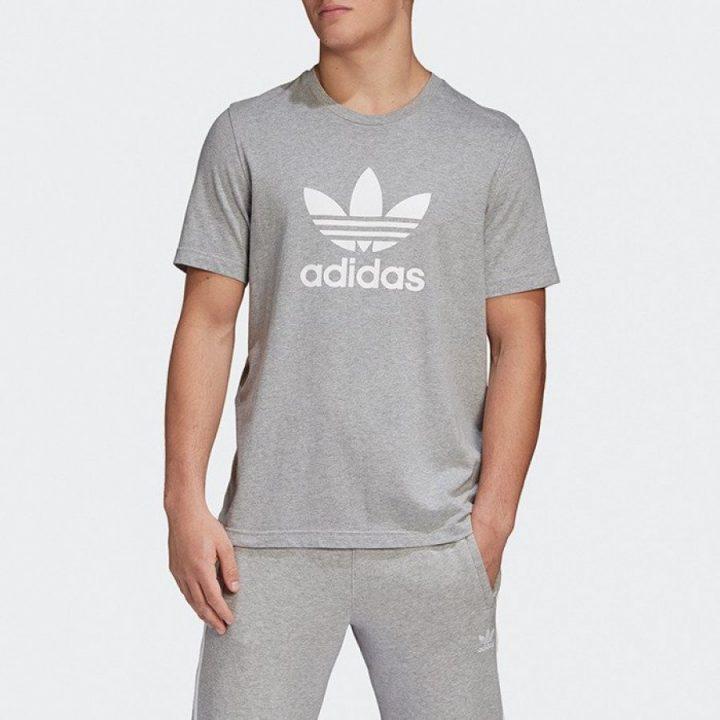 Adidas Originals szürke férfi póló