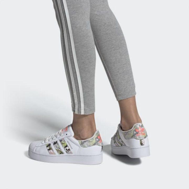 Adidas Superstar Bold W fehér férfi utcai cipő