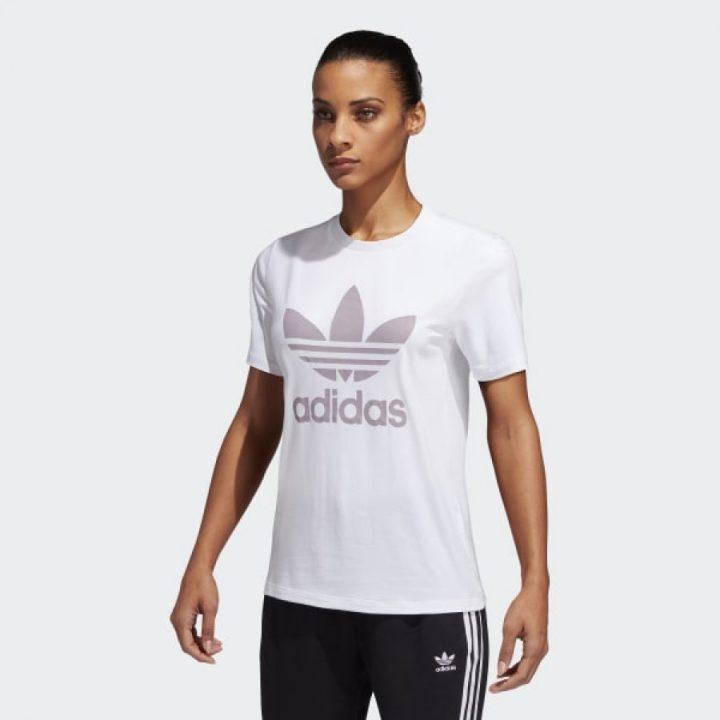 Adidas Trefoil fehér női póló