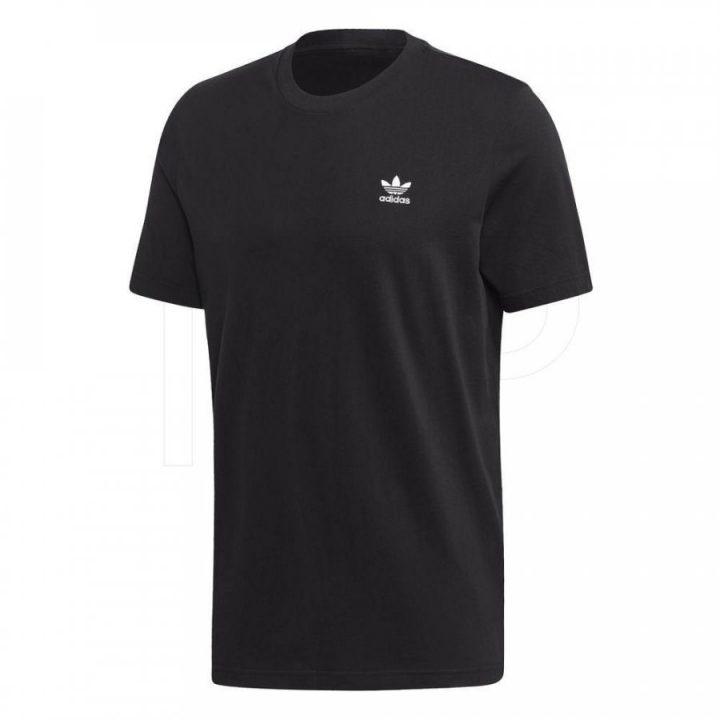 Adidas Trefoil fekete férfi póló
