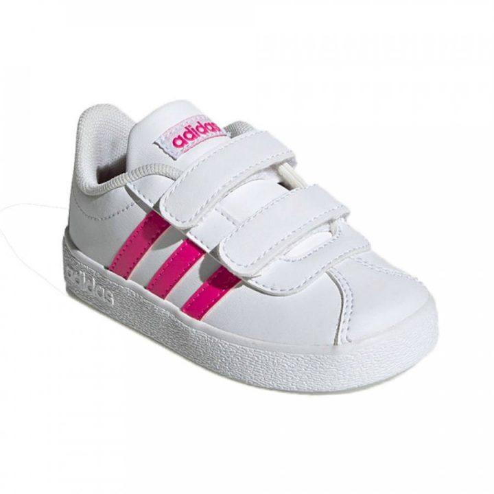 Adidas VL Court 2.0 CMF fehér lány utcai cipő