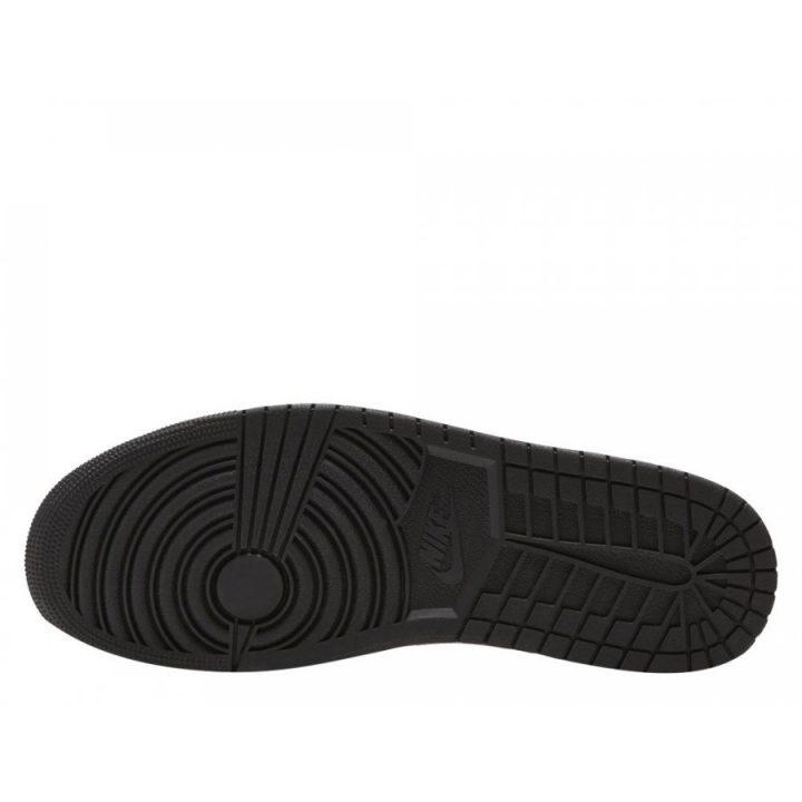 Jordan 1 MID fekete férfi utcai cipő
