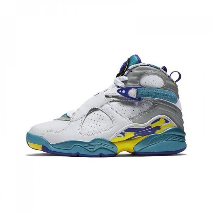 Jordan Retro 8 fehér utcai cipő