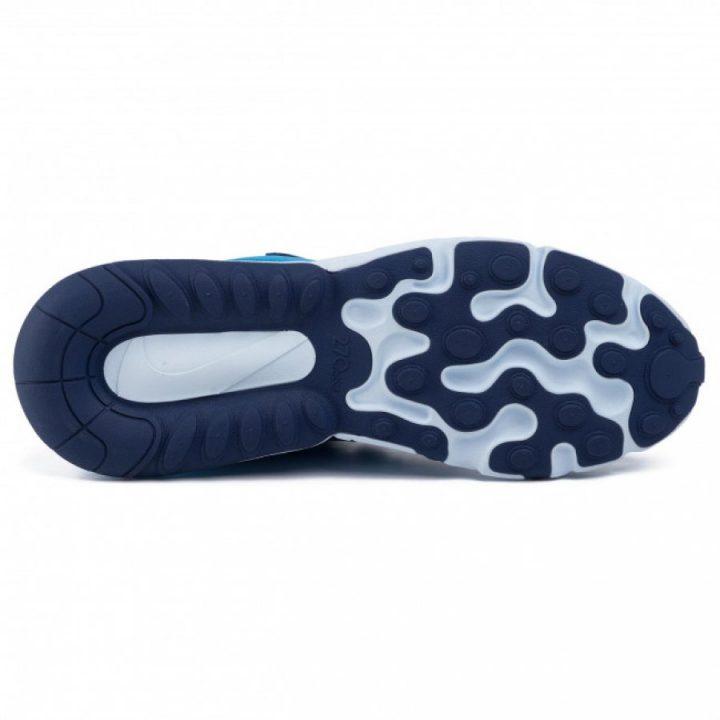 Nike Air Max 270 React kék férfi utcai cipő