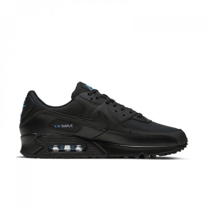 Nike Air Max 90 fekete férfi utcai cipő