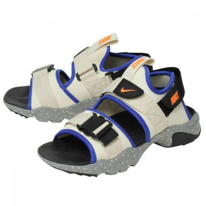 Nike Canyon Sandal sárga férfi utcai cipő