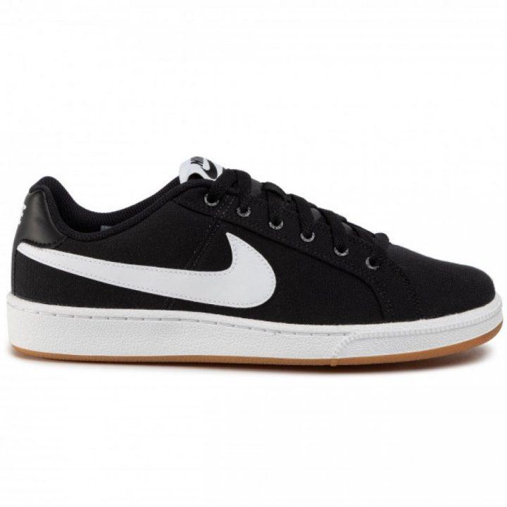 Nike Court Royale Canvas fekete férfi utcai cipő