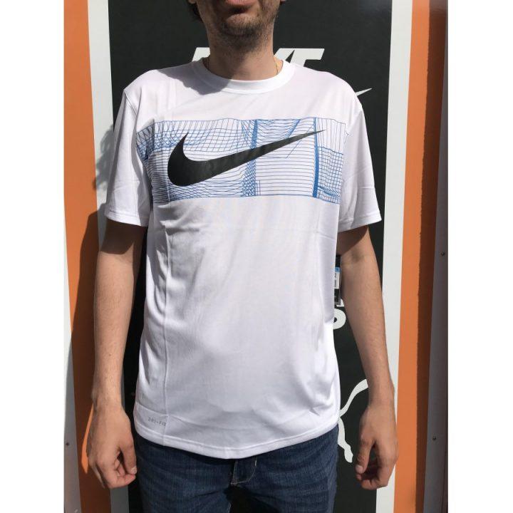 Nike fehér férfi póló
