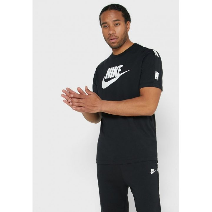 Nike NSW Hybrid fekete férfi póló