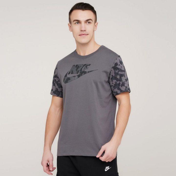 Nike NSW szürke férfi póló