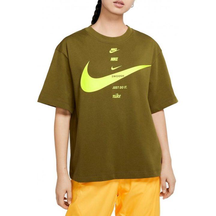 Nike NSW zöld női póló