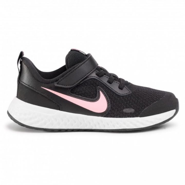 Nike Revolution 5 PSV fekete lány utcai cipő