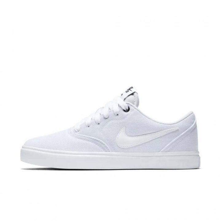 Nike SB Check Solar Canvas fehér férfi utcai cipő