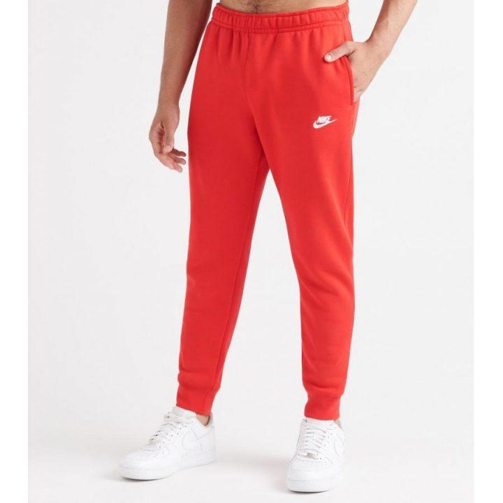 Nike Sportswear Club piros férfi melegítőnadrág