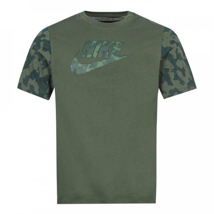 Nike Sportswear zöld férfi póló
