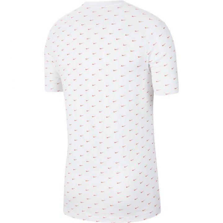 Nike Swoosh fehér férfi póló