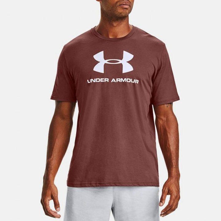 Under Armour barna férfi póló