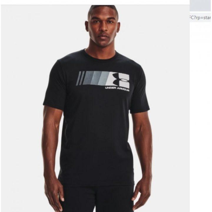 Under Armour Fast Left Chest fekete férfi póló