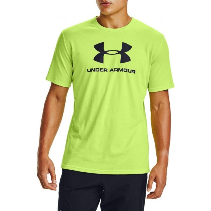 Under Armour sárga férfi póló