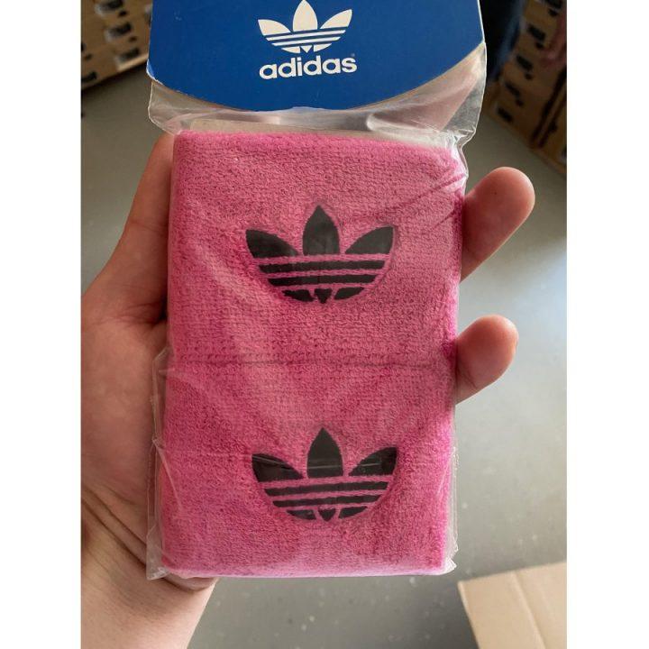 Adidas 2 db rózsaszín csuklószorító